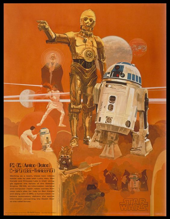 Star Wars - Would you believe that this gorgeous poster was a...