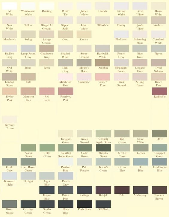 bethesdastyle farrow ball paint my colors. Black Bedroom Furniture Sets. Home Design Ideas