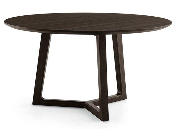 Esstisch rund design  Design Esstisch rund Ø 90 cm Holztisch Küchentisch Tisch ...