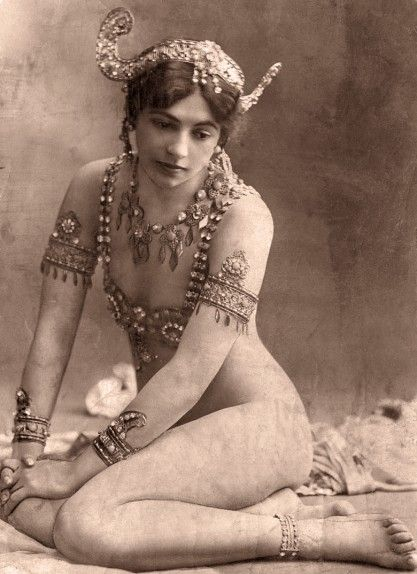 The real life Mata-Hari in a period photograph
