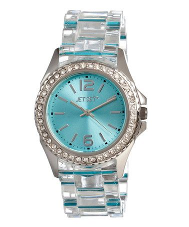 Take a look at this Jet Set Cerulean Candy Watch by Jet Set on #zulily today!