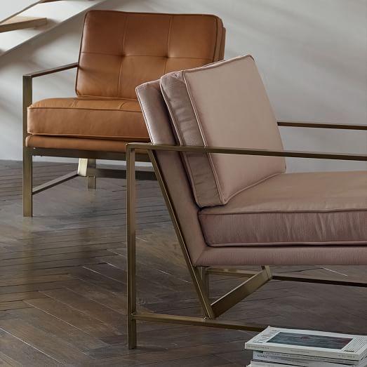 metal frame upholstered chair west elm astonishing home stores west elm