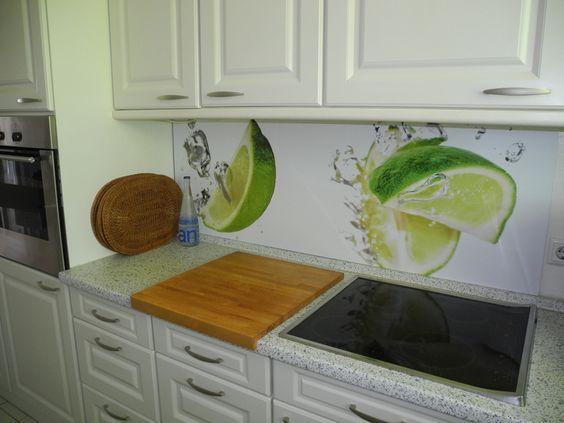 Küchenrückwand, Spritzschutz, Nischenverkleidung Küche Pinterest - nischenplatten für küchen