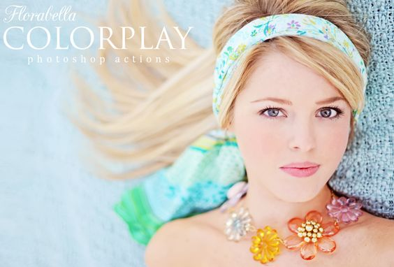 Florabella Collection Photoshop Actions - Florabella Giveaway