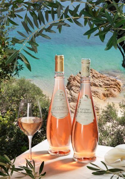 Côte de Provence Rosé, Château de l'Aumérade. Aux arômes d'agrumes et au parfum frais.