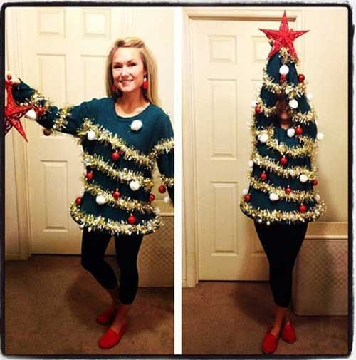 Awesome ugly sweater!