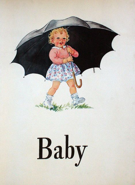 Dick and Jane- I especially remember this picture of Sally, like the Morton salt box. Over 60 years ago for me.