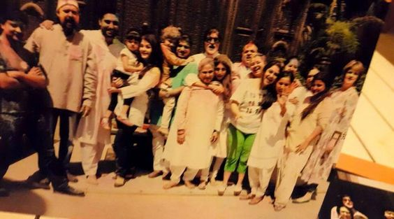 Here's how the Bachchans celebrated their Holi   PINKVILLA