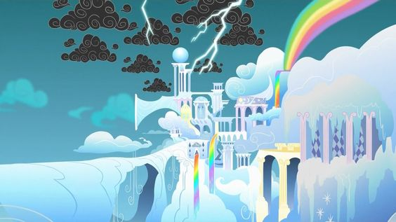 Cloudsdale weather factory - My Little Pony