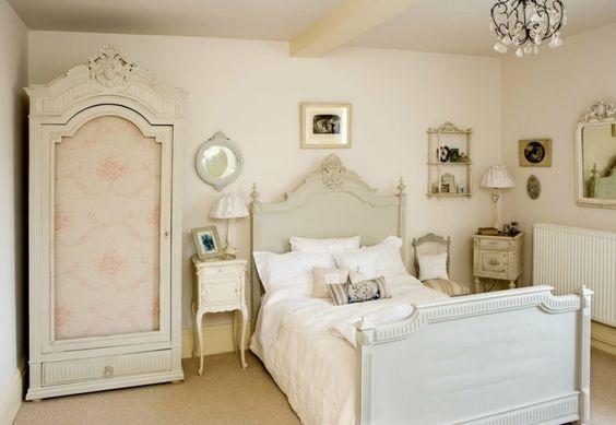 ... déco chambre vintage, modèle chambre adulte, déco chambre adulte