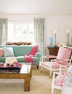 * Patricia Gray | Interior Design Blog™: Think Pink