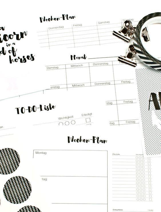 Kalender Zum Ausdrucken Wochen Und Monatsplan Diy Blog Kalender Zum Ausdrucken Terminplaner Vorlage Monatsplaner