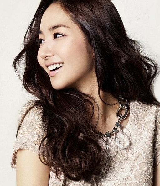 korean actress 박민영 long wave hair style | People I Admire ...