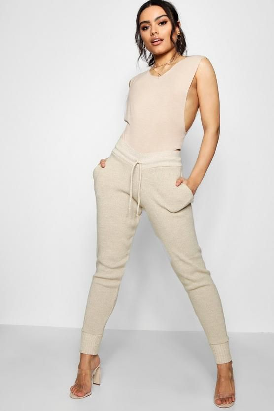 Faith Boutique Heavy Knitted Lounge Jogger