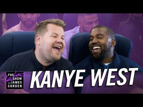 Kanye West Says God S Always Had A Plan As He Performs Jesus Walks On James Corden S Carpool Karaoke Kanye West Karaoke What Lyrics