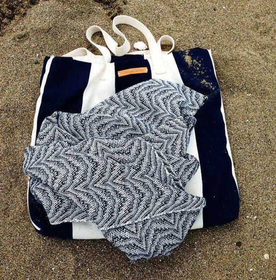 Buy Wave Handwoven Spa Towel by gallantandjones. Explore more products on http://gallantandjones.etsy.com