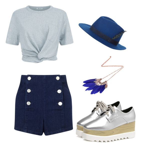 """""""Sans titre #785"""" by inconnito-unknow on Polyvore featuring mode, House of Lafayette, T By Alexander Wang et Miss Selfridge"""