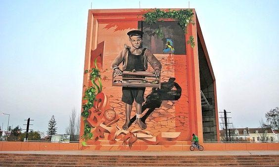 Graffiti português entre os mais bonitos do mundo