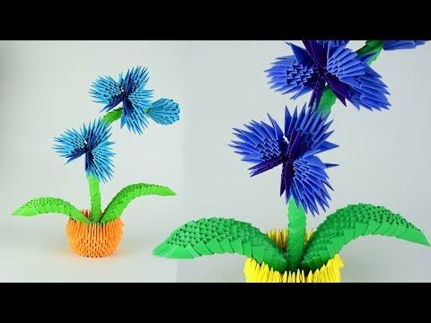 How To Make A Paper Orchid Flower 3d Origami Tutorial Diy Youtube 3d Origami Tutorial Origami Orchid Origami Tutorial