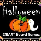 Fill in those extra October minutes with this collection of six Halloween SMART Board games.  16 Slides include:  Spider Math Facts: Use your flash...