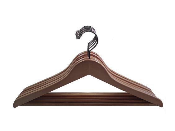 Wooden hanger - flat