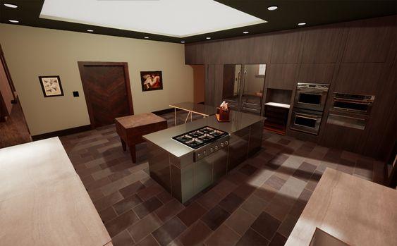 Artstation Wip Hannibal S Kitchen Patricia Mischa Lopes Kitchen Redesign Kitchen Design Kitchen