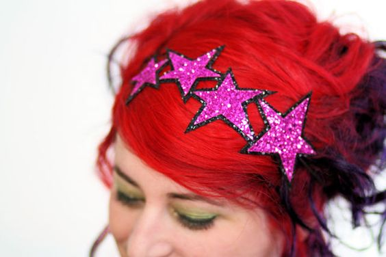 Glam stars in hot pink headband £21.00