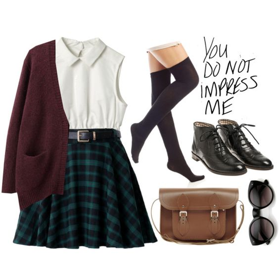 Private school woes by evangeline-lily on Polyvore