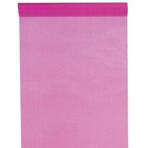 Chemin de table fuchsia en organdi, pink wedding, mariage rose, fuchsia, pink