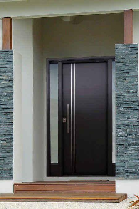 Aprende A Ponerle Onda A Tu Fachada In 2020 Modern Entrance Door Door Design Modern Room Door Design