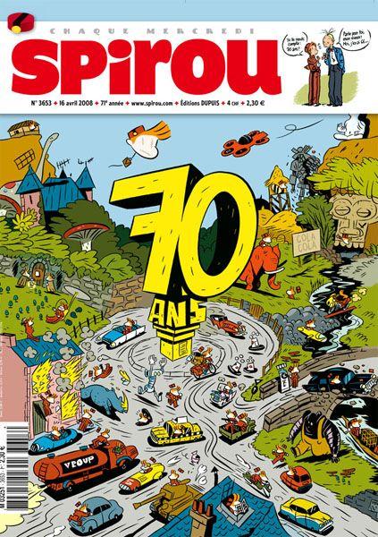 Journal de Spirou : les numéros spéciaux - Page 4