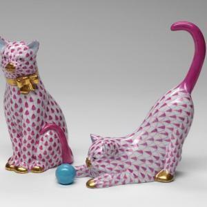 Herend Porcelain Figurines: