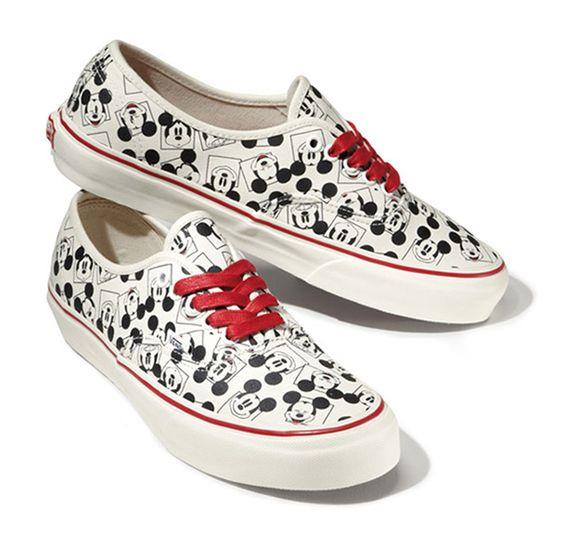 vans shoes disney mickey