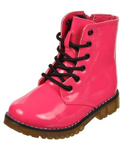 "Eddie Marc ""Surge"" Combat Boots (Toddler Girls Sizes 5 – 10 ..."