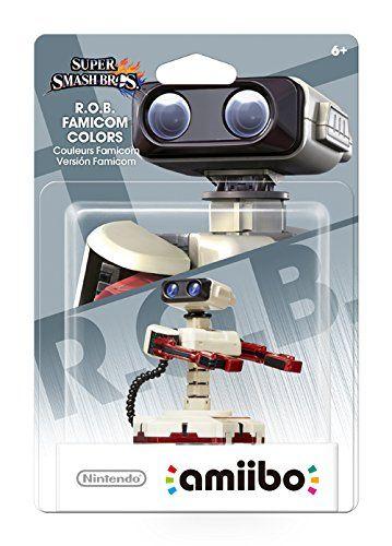 R.O.B. Famicom Colors Amiibo (Super Smash Bros Series) http://www.amazon.com/R-O-B-Famicom-Colors-nintendo-wii-u/dp/B01A0LTJBO/ref=sr_1_1?s=videogames&ie=UTF8&qid=1456538770&sr=1-1&keywords=R.O.B.+Famicom+Colors+amiibo+%28Super+Smash+Bros+Series%29