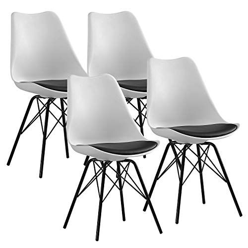 Soges Living Room Chairs With Cushion Set Of 4 Dining Room