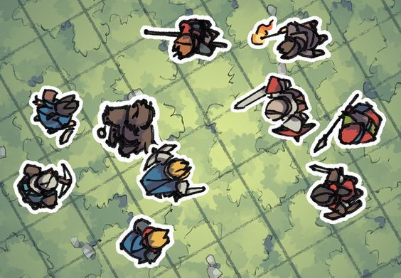 Hero Tokens (for virtual table tops) by 2-Minute Table Top