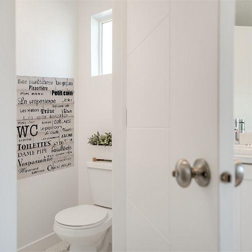 decouvrez ce poster pour les toilettes
