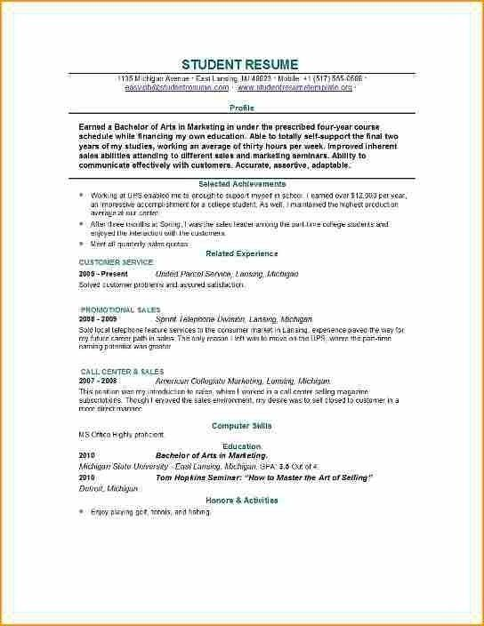 Cv Template 19 Year Old Job Resume Examples Resume Examples