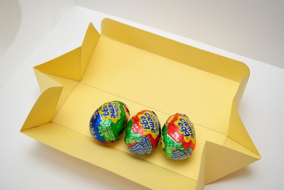 Easter Bunny Egg Box - great box tutorial too!