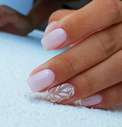 65 Cute Short Acrylic Square Nails Ideas For Summer Nails With