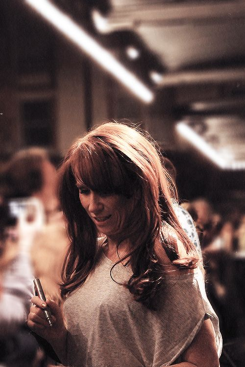 catherine tate. I loved her in doctor who, and only recently found out she is very funny.