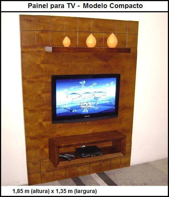 Painel para tv, modelo pequeno:  http://www.casabelainteriores.com/p/paineis-estantes-racks.html