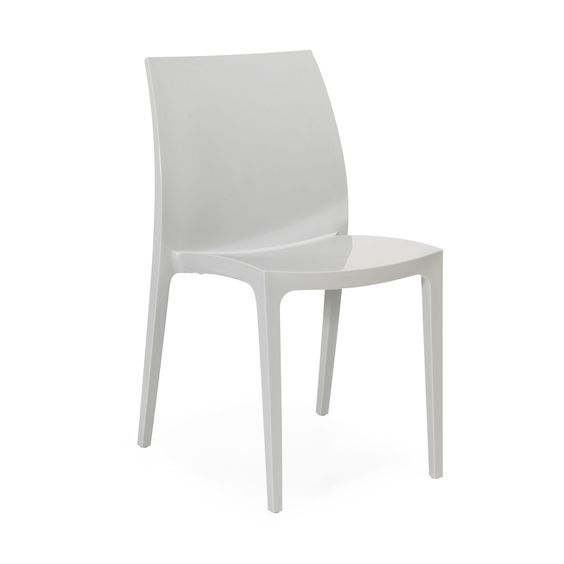 Chaise Salon Blanche