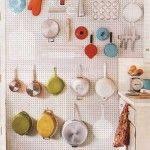 gaatjesbord in de keuken