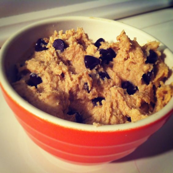 Healthy Chocolate Chip Cookie Dough Dip | awesome food | Pinterest ...