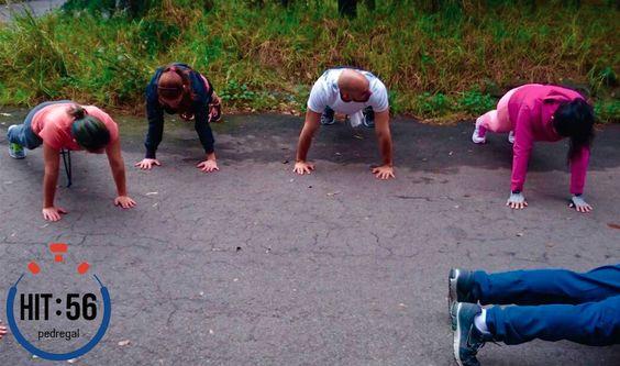 Entrenamiento en el Bosque de Tlalpan. #FunctionalFitness #SiTeCansasSigues #HIT56