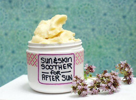 Natural Homemade After Sun Skin Care Cream | Flickr - Photo Sharing!