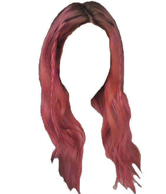 Pin By Elizabeth Petkova On Polyvore Anime Hair Hair Styles Pink Hair
