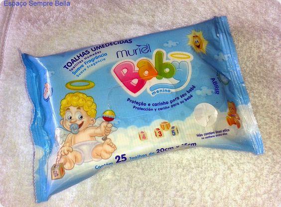 Espaço Sempre Bella: #Resenha - Toalhas Umedecidas Menino - Muriel Baby...